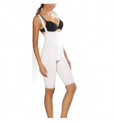 Panty haut court tissus premium