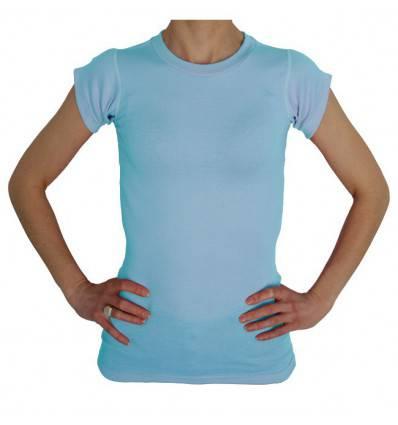 Tee-shirt sans couture pour corset ciel