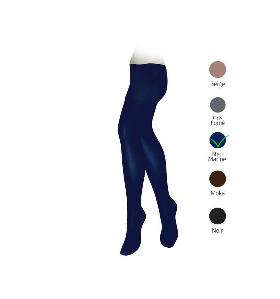 collants veinax microtrans classe 2 bleu marine. Black Bedroom Furniture Sets. Home Design Ideas