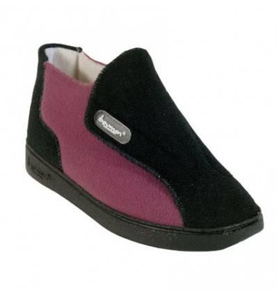 Chaussures GENIE noires et prunes