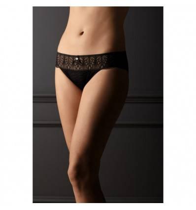 Slip Panty Sophie noir/ivoire