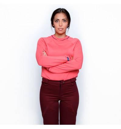 Tee-shirt ML Danièle corail