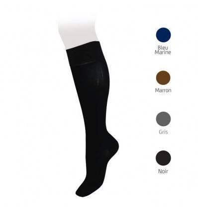 Chaussettes Homme Coton de classe 2 noires