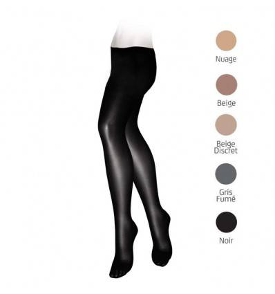 Collants VEINAX transparents classe 2 noir