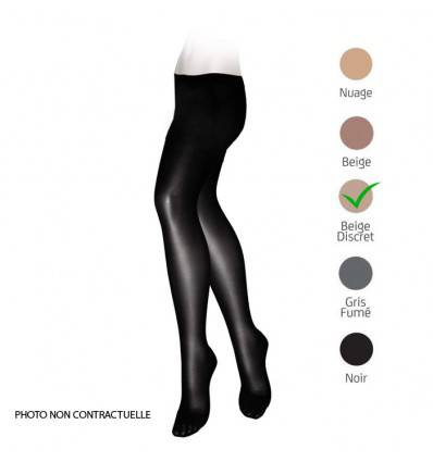 Collants VEINAX transparents classe 2 beige discret