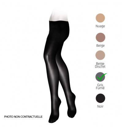 Collants VEINAX transparents classe 2 gris fumé