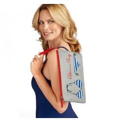 Pochette sac de plage Bikini Bag Grise