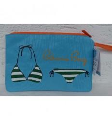 Pochette sac de plage Bikini Bag Bleu