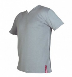 Tee-shirt technical wear homme manche courte gris