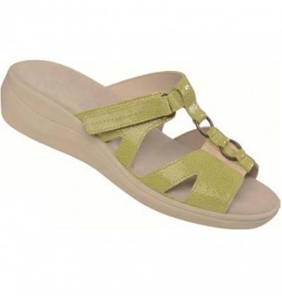 Chaussures femme VARDA vert anis