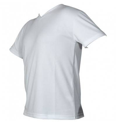 Tee-shirt technical wear homme manche courte blanc